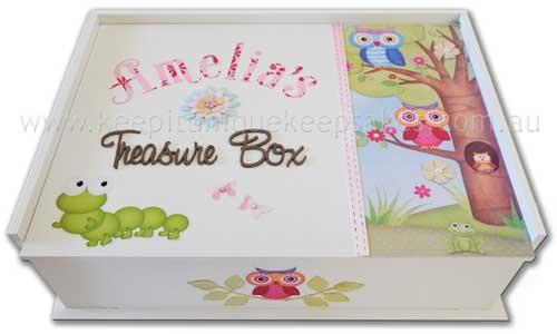 Personalised Keepsake Box Wooden Keepsake Boxes For New Baby