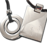 Sterling Silver Unidos and Dad's pendants 20% off for Father's Day
