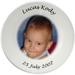 Personalised Photo Plate - colour