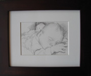 framed pencil portraits from photos