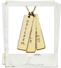 posh mommy tall tag engraved mother pendant