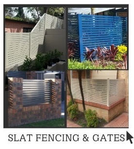 Aluminium Slat Fencing and Gates