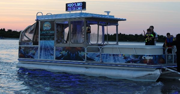 Pontoon Boat Rentals Emerlad Isle NC, Pontoon Boat Rental Morehead City NC, Pontoon Boat Rental Jacksonville NC