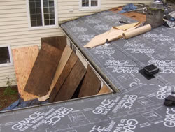 Low slope roofing / Grace Ice & Water Shield