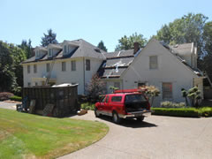 Residential roofing management start to finish - completion