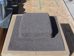 Granule Coated Roof Vent - A Nice Touch