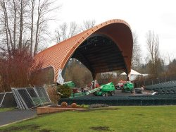 Oregon Roof Consulting Inspected Cuthbert Amphitheater in Eugene, Oregon (Feb 2014)
