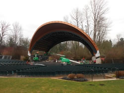 Cuthbert Amphitheater in Eugene, Oregon