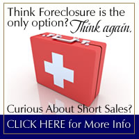 Think Foreclosure is the only option? Think again -  Click Here To Get Information On Short Sales