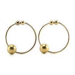 Gold Nipple Rings
