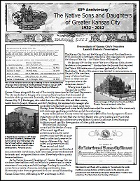 80th Anniversary Native Sons and Daughters of Greater Kansas City