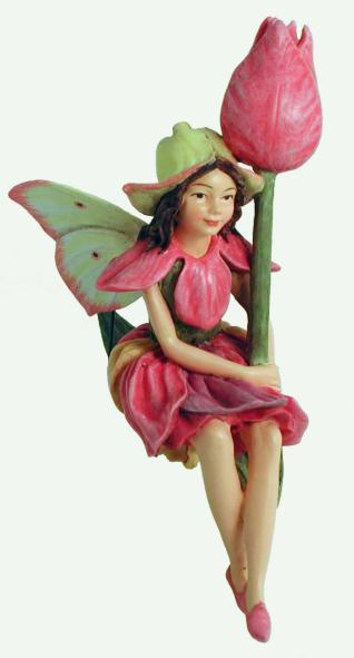 Tulip Flower Fairy Figurine