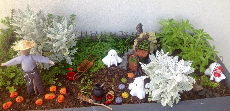 Image result for scary fairy gardens