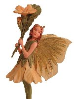 Primrose Flower Fairy Figurine