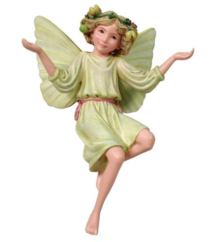 White Bryony Flower Fairy Figurine