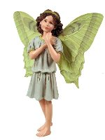 Lady's Smock Flower Fairy Figurine