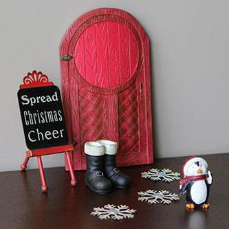 Cheerful Christmas Door Kit Fairy Garden