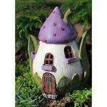 Flower Hut Miniature Fairy Garden House