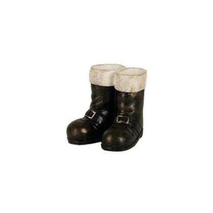 Miniature Fiary Santa Boots Gypsy Garden
