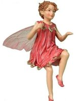 Totter-Grass Flower Fairy Figurine