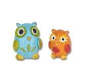Miniature Baby Owls Gypsy Garden