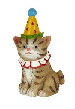 Miniature Merriment Fairy Birthday Cat