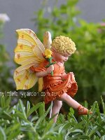 Bird's-Foot Flower Fairy Figurine