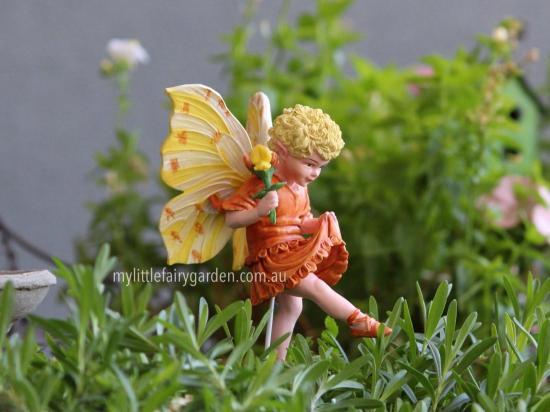Bird's-Foot Flower Fairy Figurine
