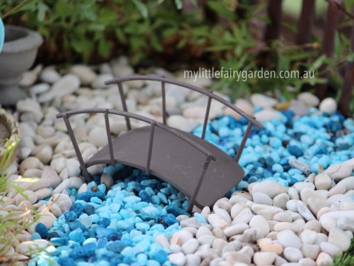Wire Bridge Miniature Fairy Garden