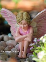 Candytuft Flower Fairy Figurine