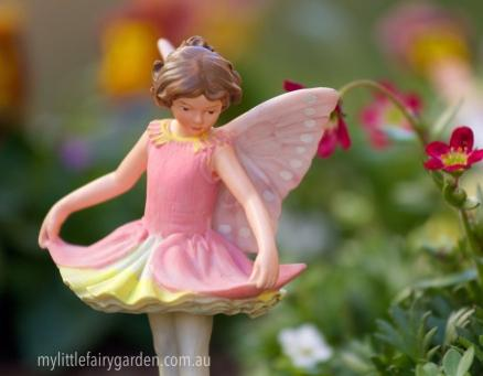 Columbine Flower Fairy Figurine