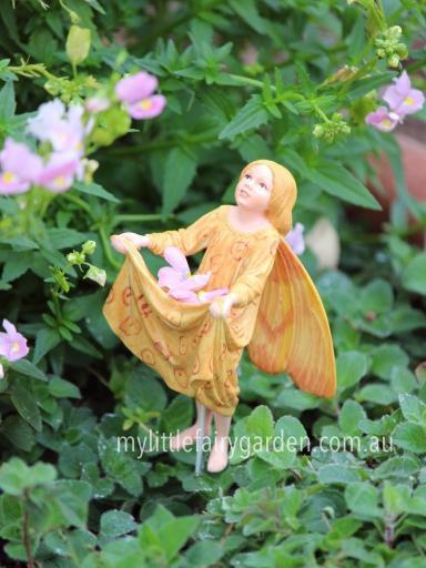 Crab-Apple Flower Fairy Figurine
