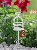 Miniature Bird Cage Fairy Garden