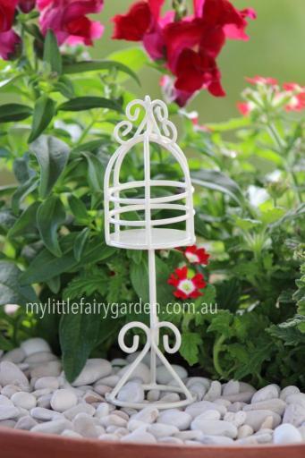 Miniature Bird Cage Fairy Garden