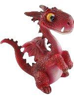 Baby Playful Red Dragon Miniature Fairy Garden