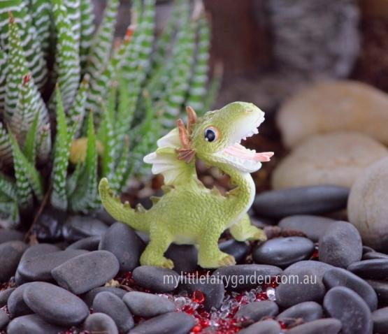 Cheeky Baby Dragon Miniature Fairy Garden