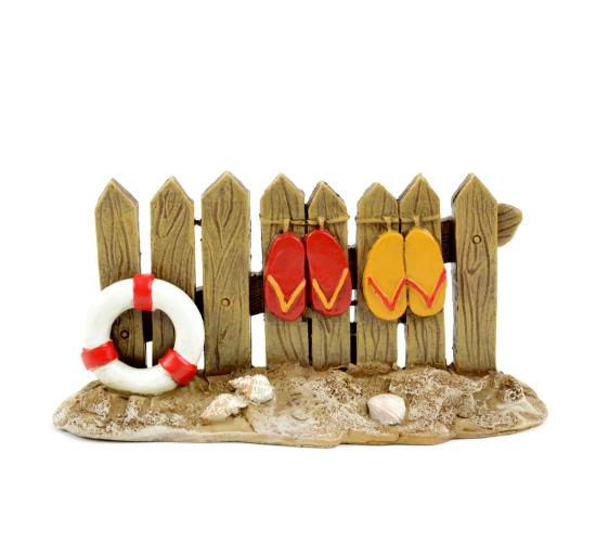 Fence in Sand Miniature Fairy Garden