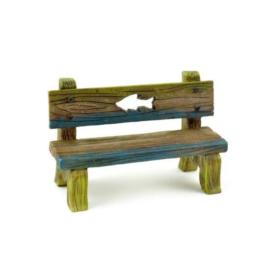 Fishing Bench Miniature Fairy Garden