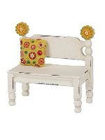 Miniature Merriment Mini Flower Post Bench