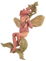 Foxglove Flower Fairy Figurine