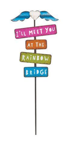 Meet Me at the Rainbow Sign Gypsy Garden