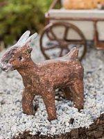 Miniature Goat Fairy Garden