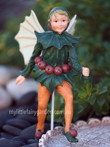 Holly Flower Fairy Cicely Mary Barker