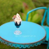 Icecream Sundae Miniature Fairy Garden