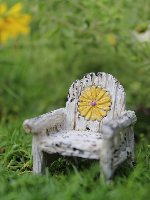 Daisy Chair Fairy Garden Miniature