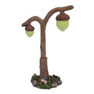 Miniature Glow in the Dark Acorn Lamp Fairy Garden