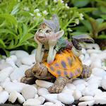 Fairy Garden Pixie with Turtle