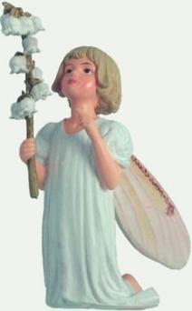 Lily of the Valley Flower Fairy Figurine