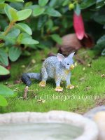 Possum Miniature Fairy Garden