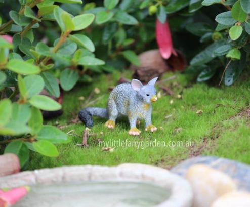 Possum Miniature Fairy Garden
